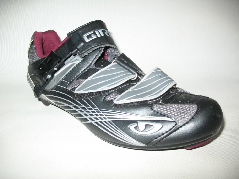 Велотуфли GIRO solara road shoes lady (размер US8/UK6/EU40(на стопу 250 mm)) - 3