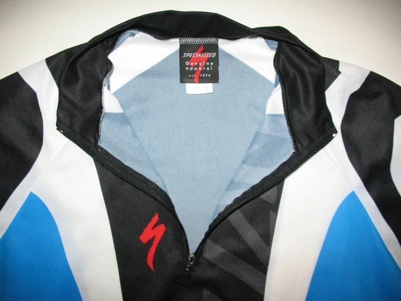 Футболка SPECIALIZED bike jersey  (размер 4-L) - 3