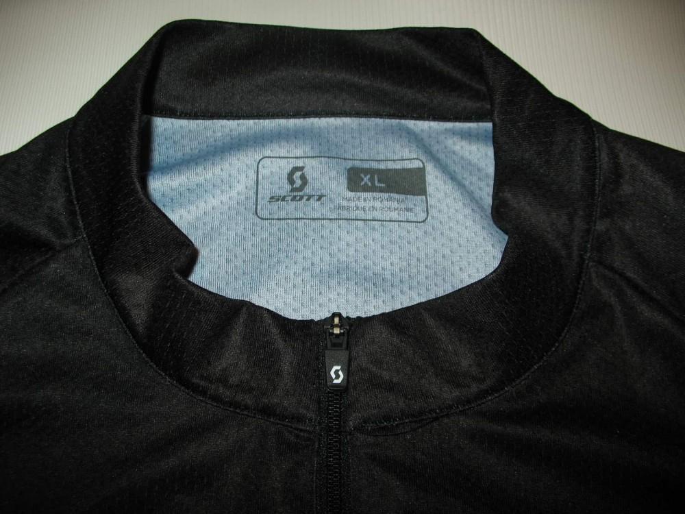 Веломайка SCOTT rc cycling black jersey (размер XL) - 2