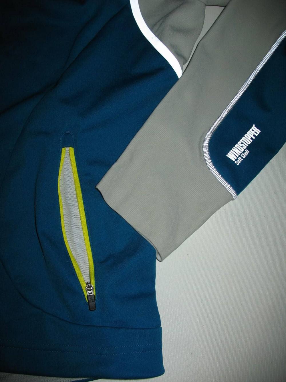 Куртка ODLO nagano windstopper jacket (размер L) - 7