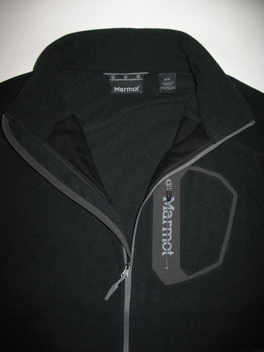 Куртка MARMOT alpinist tech fleece jacket (размер M) - 5