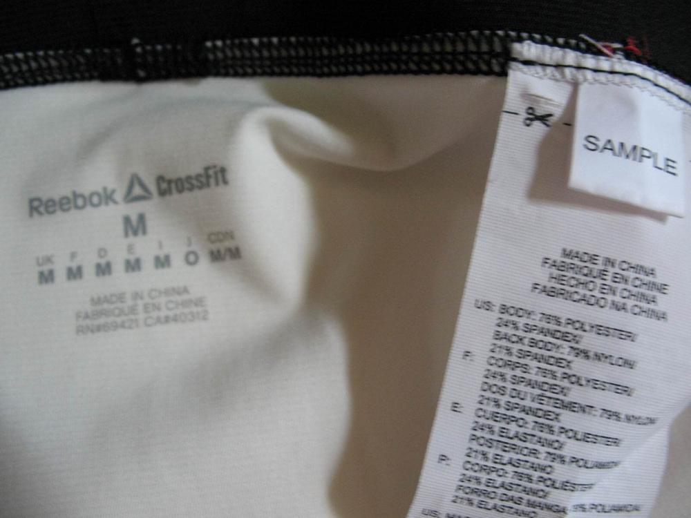 Штаны REEBOK crossFit PWR5 compression training tight leggings (размер M/S) - 12