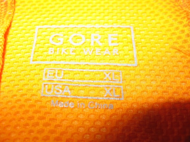 Веломайка GORE bike wear xenon jersey (размер XL) - 3