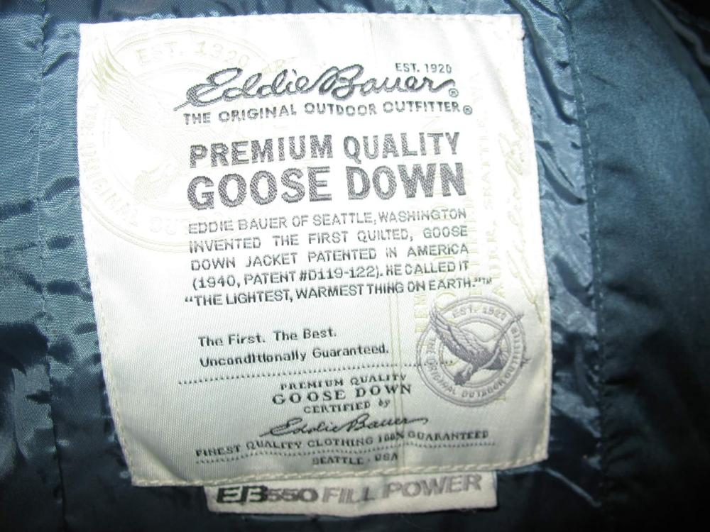 Куртка EDDIE BAUER Lodge Down Parka lady (размер SM-на рост +-170 см) - 13