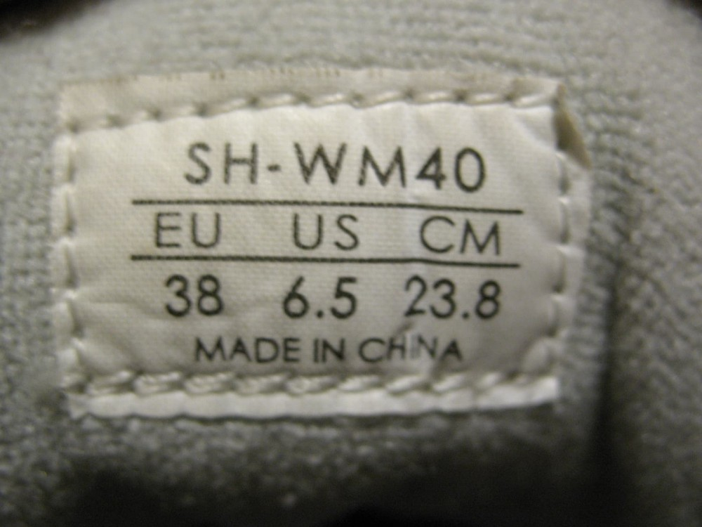 Велотуфли SHIMANO sh-wm 40 mtb shoes lady (размер US6.5/EU38(на стопу 238 mm)) - 9