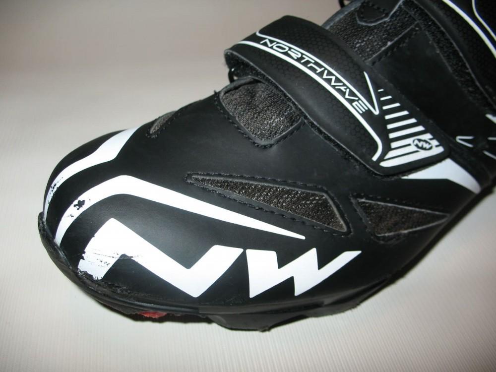 Велотуфли NORTHWAVE spike evo MTB shoes (размер US12/UK11/EU45(на стопу 293 mm)) - 14
