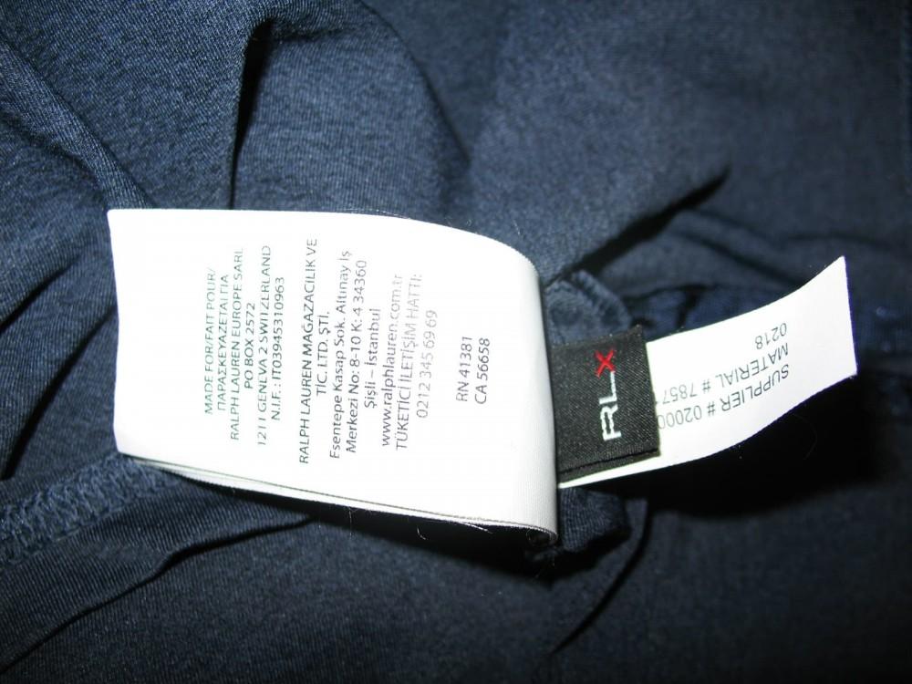 Футболка RLX Ralph Lauren golf ss shirt (размер XXL) - 4