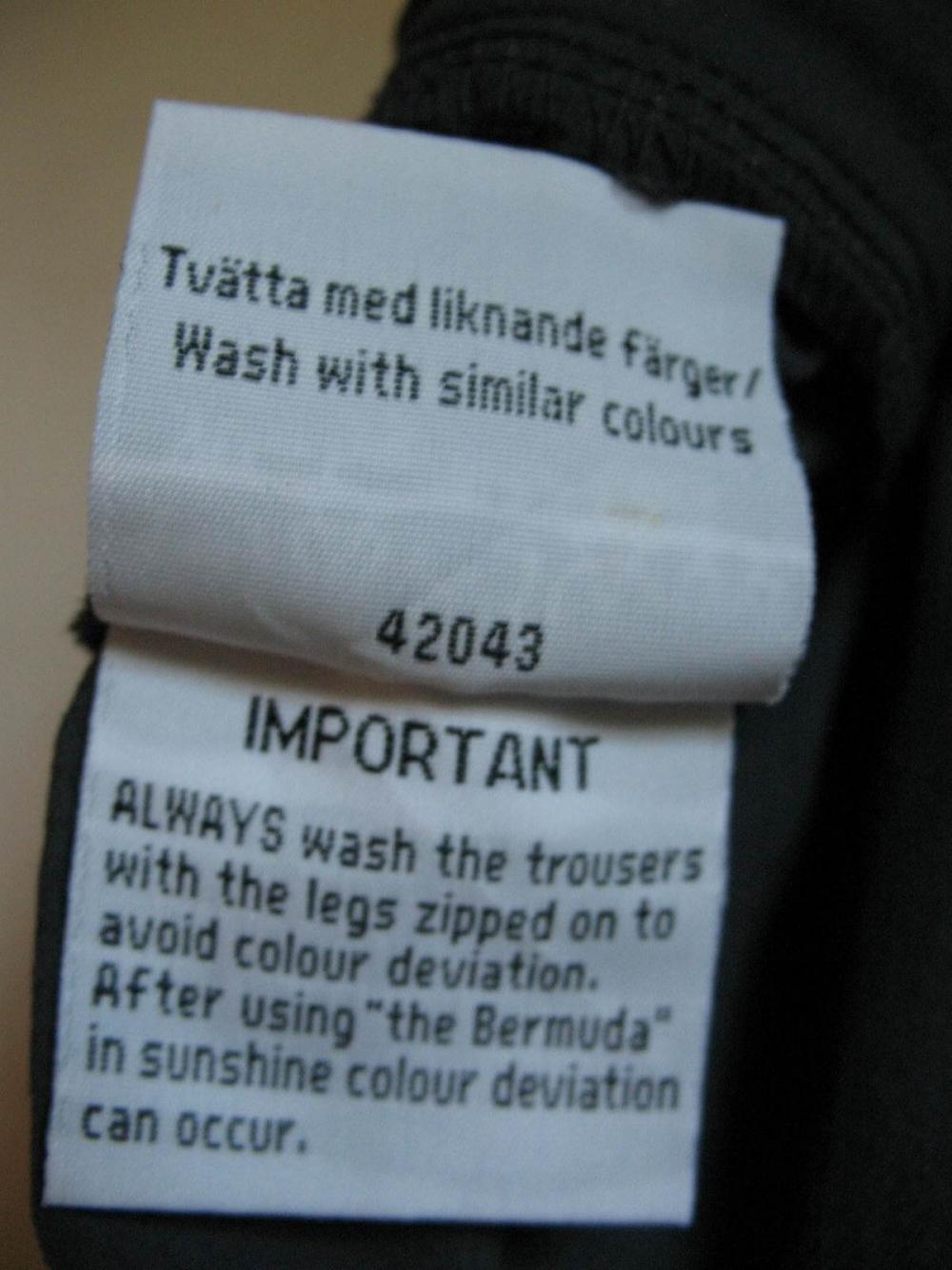 Штаны FJALLRAVEN 2in1 pants lady (размер 36/S) - 8