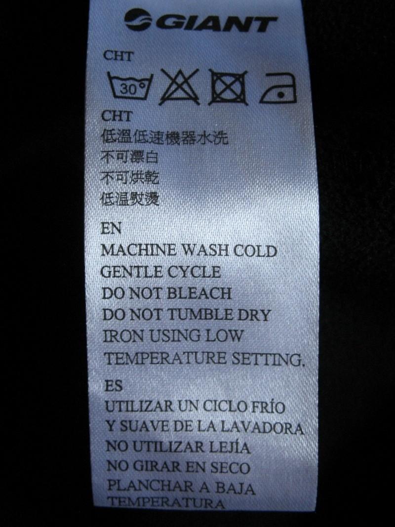 Куртка GIANT softshell jacket (размер XS/S) - 9