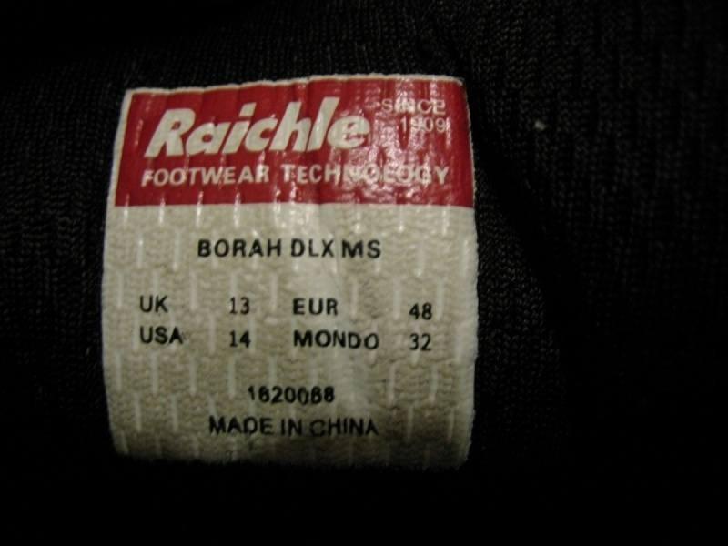 Кроссовки Mammut Borah DLX  (размер UK13/US14/EU48(на стопу до 320 mm)) - 12