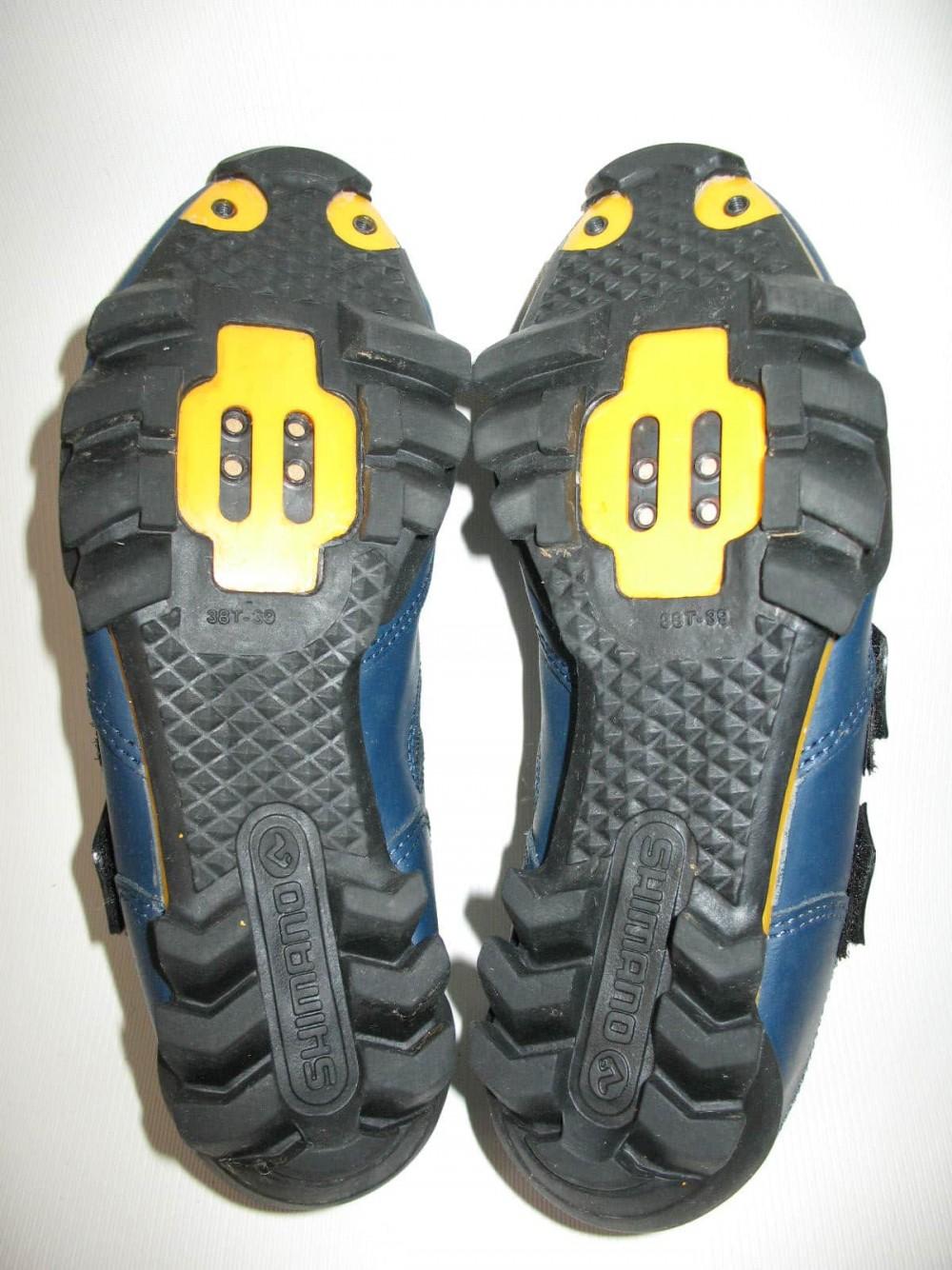 Велотуфли SHIMANO SH-M150 mtb shoes (размер UK5,5/EU38,5(на стопу до 240 mm)) - 6