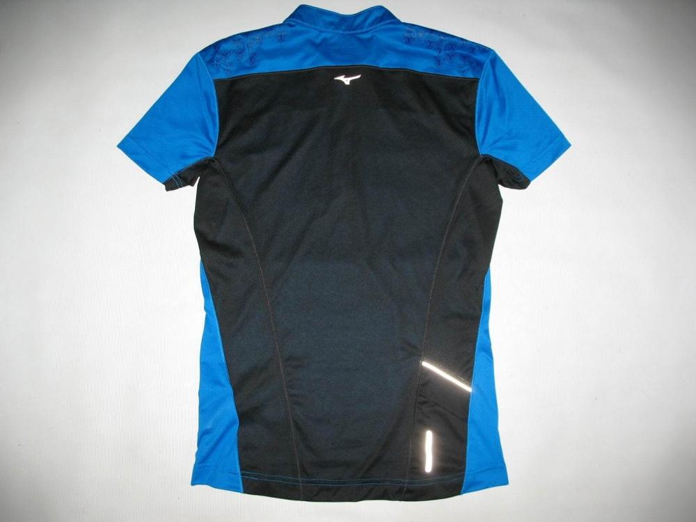 Футболка MIZUNO drylite hex tee jersey (размер M) - 4