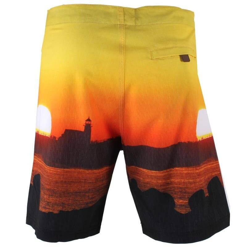 Шорты SANTA CRUZ Lighthouse Sunset Boardshort (размер 36/XL) - 1