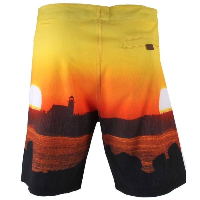 Шорты SANTA CRUZ Lighthouse Sunset Boardshort (размер 36/XL) - 1