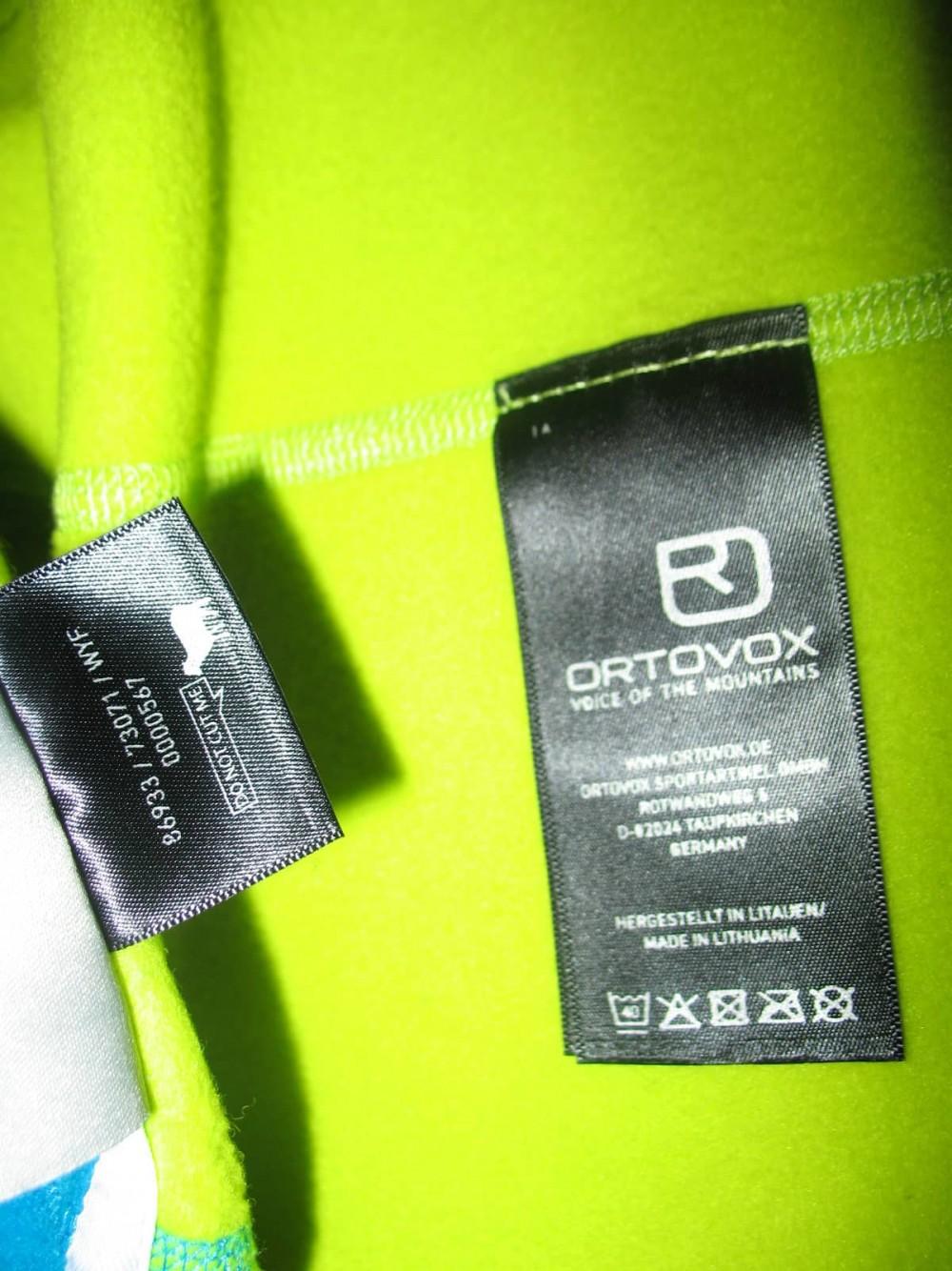 Кофта ORTOVOX merino fleece hoodies lady (размер S) - 7