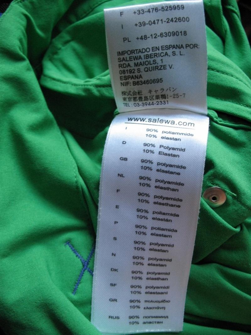 Шорты SALEWA climber 4. 0 DST La Mano shorts (размер 50-L) - 11