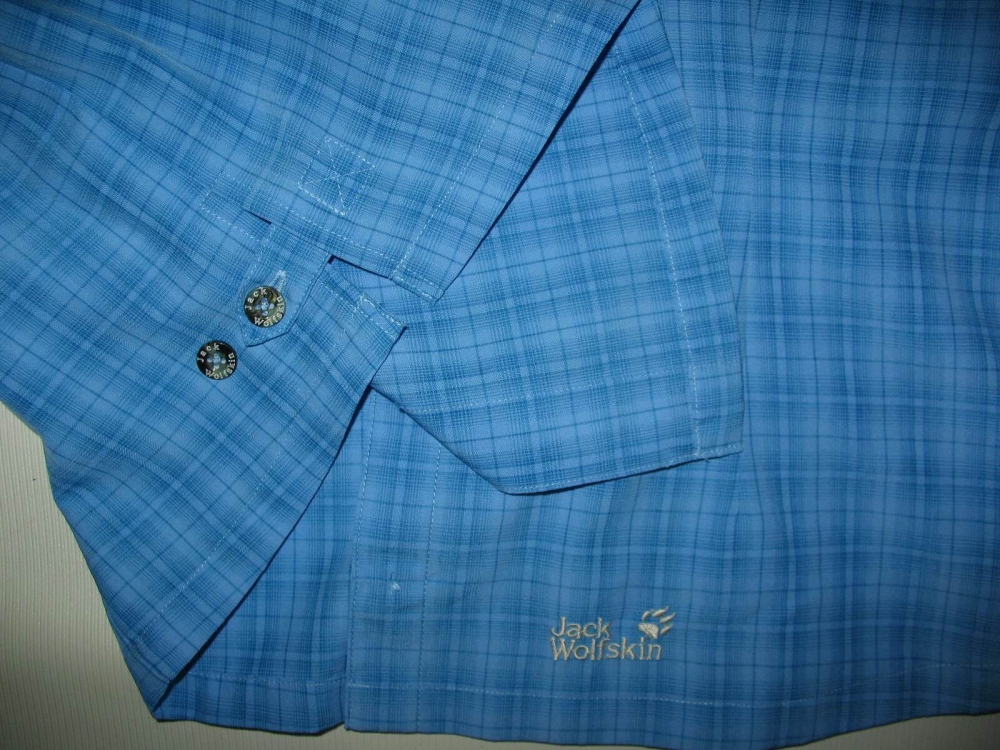 Рубашка JACK WOLFSKIN outdoor shirt lady (размер M/L) - 4