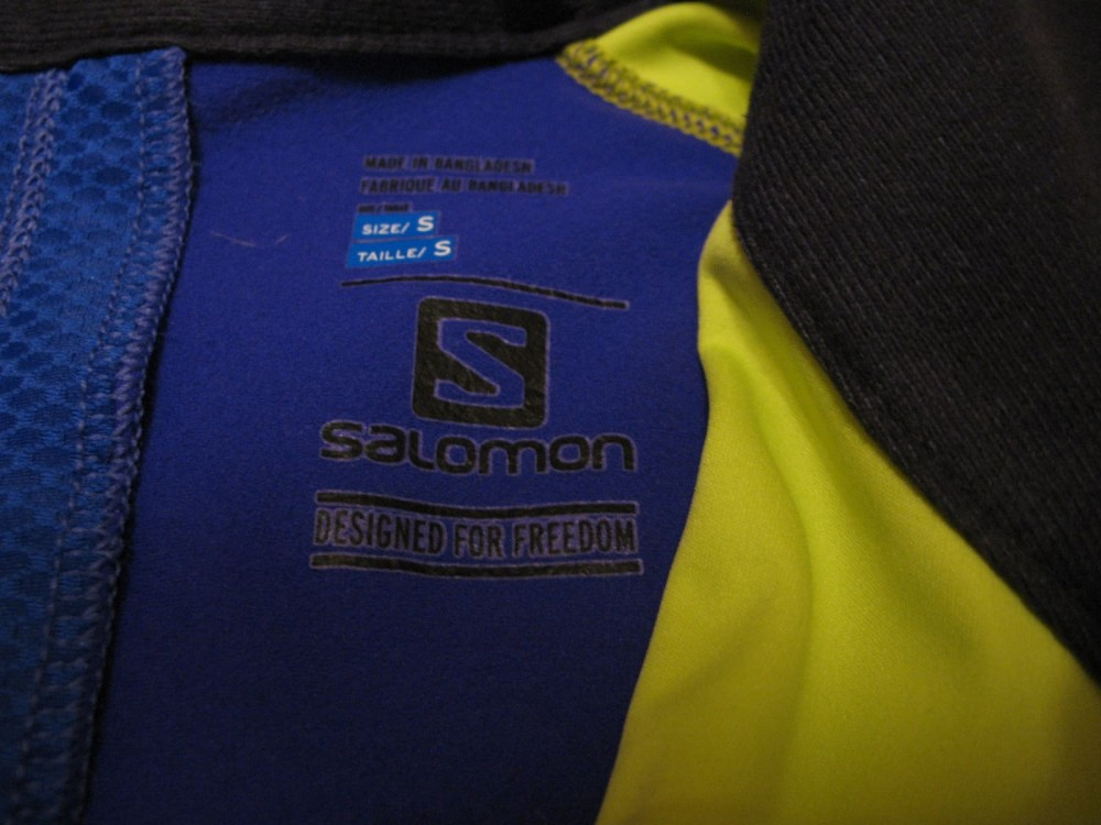 Куртка SALOMON lightning softshell jacket lady (размер S) - 5