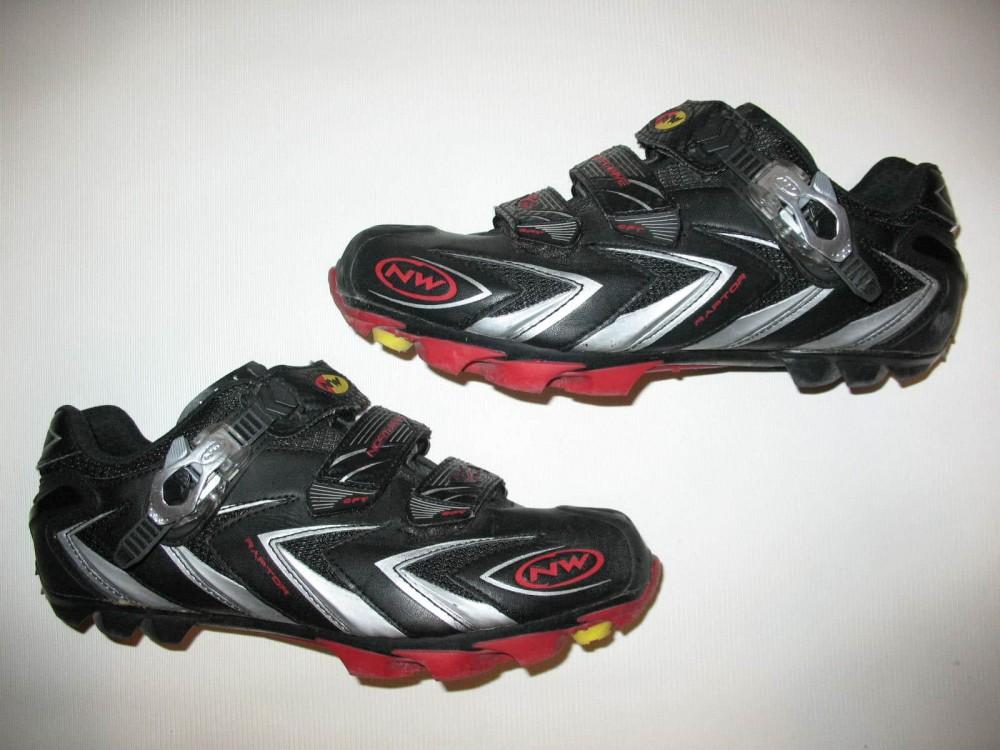 Велотуфли NORTHWAVE raptor cycling shoes (размер US8,5/UK7,5/EU41(на стопу до 265 mm)) - 3