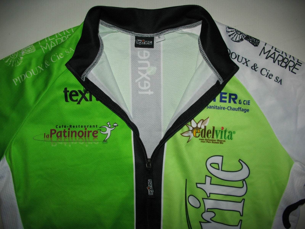 Веломайка TEXNER la favorite green cycling jersey (размер S) - 2