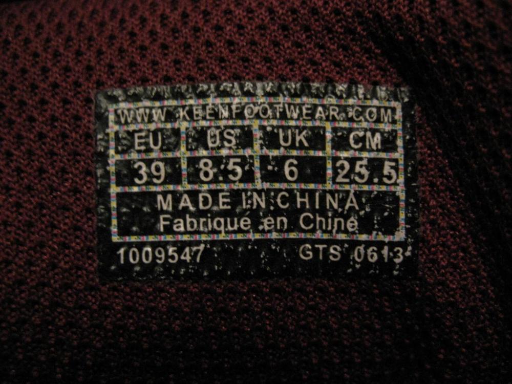 Кроссовки KEEN Marshall WP lady (размер UK6/US8,5/EU39(на стопу до 255mm)) - 8
