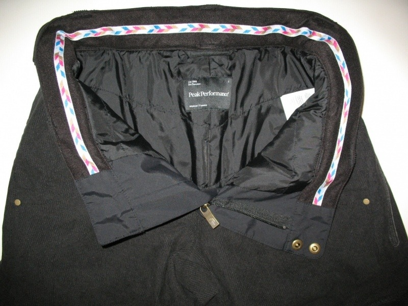 Штаны PEAK PERFOMANCE rail snowboard/ski pants lady (размер L) - 4