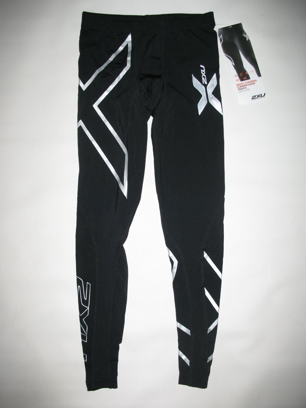 Штаны  2XU thermal compression tights unisex (размер XS) - 1