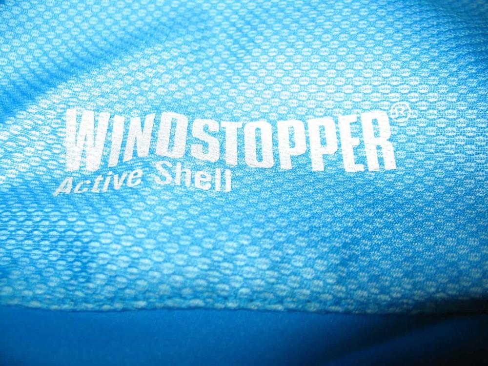 Вело/бег куртка GORE gtx windstopper ultralight blue jacket (размер XXL) - 5