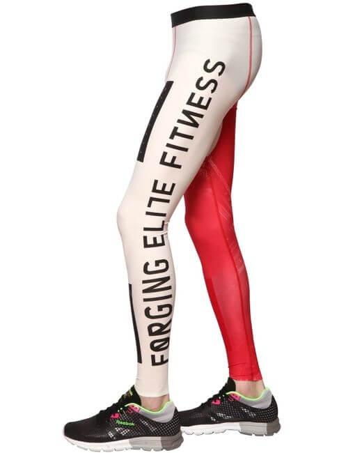 Штаны REEBOK crossFit PWR5 compression training tight leggings (размер M/S) - 2