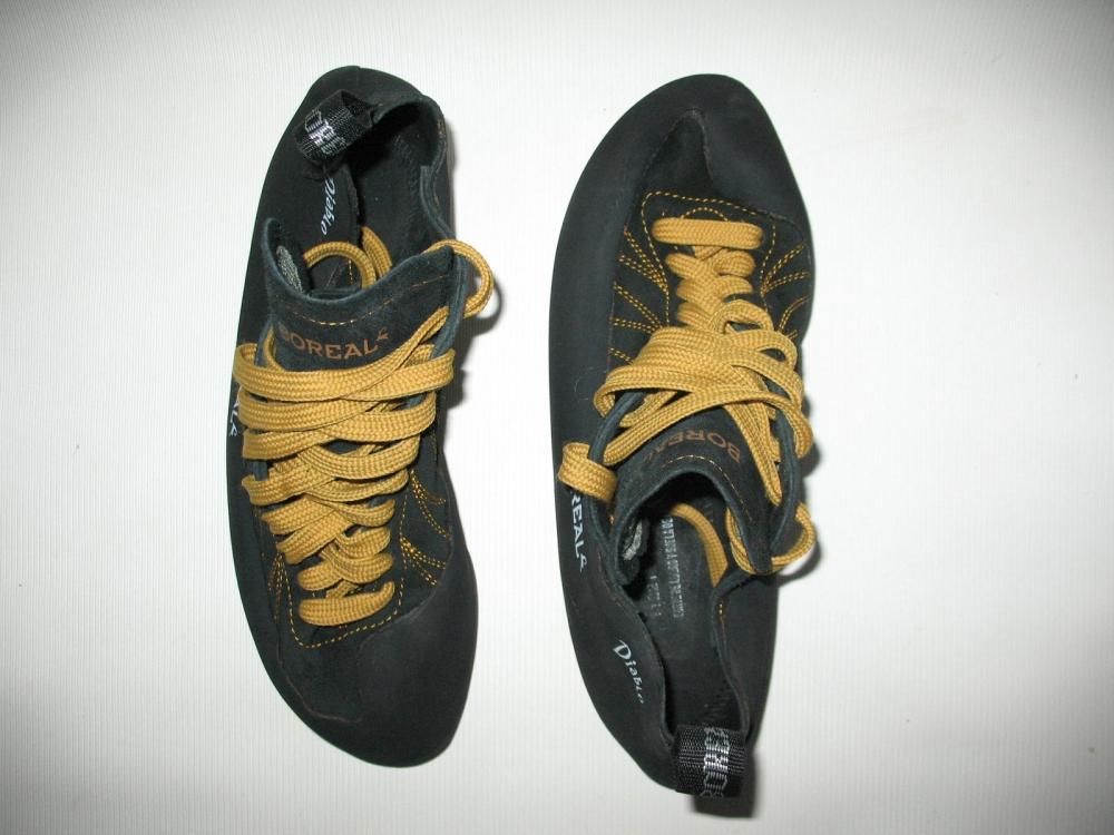 Скальные туфли BOREAL diablo climbing shoes (размер UK8/US9,5/EU42,5(на стопу 270 мм)) - 4