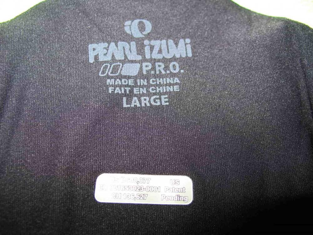 Веломайка PEARL IZUMI p.r.o. leader short sleeve jersey (размер L) - 8