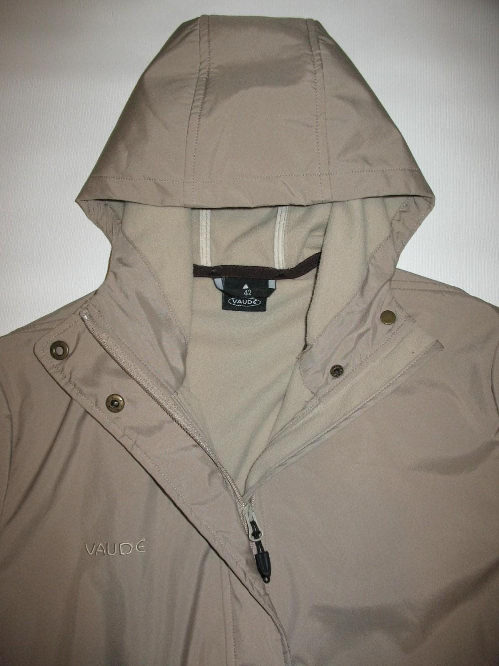 Куртка VAUDE softshell coat lady (размер 42/L-XL) - 5