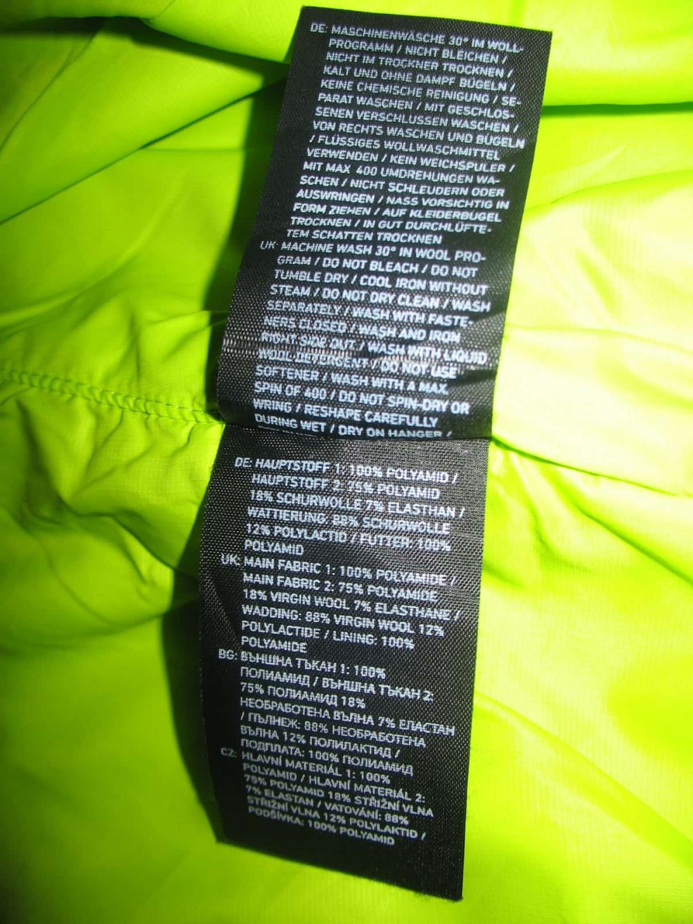 Куртка ORTOVOX swisswool piz boè jacket (размер M) - 9