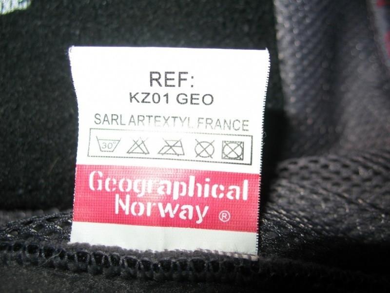 Кофта GEOGRAPHICAL NORWAY fleece jacket  (размер L) - 10