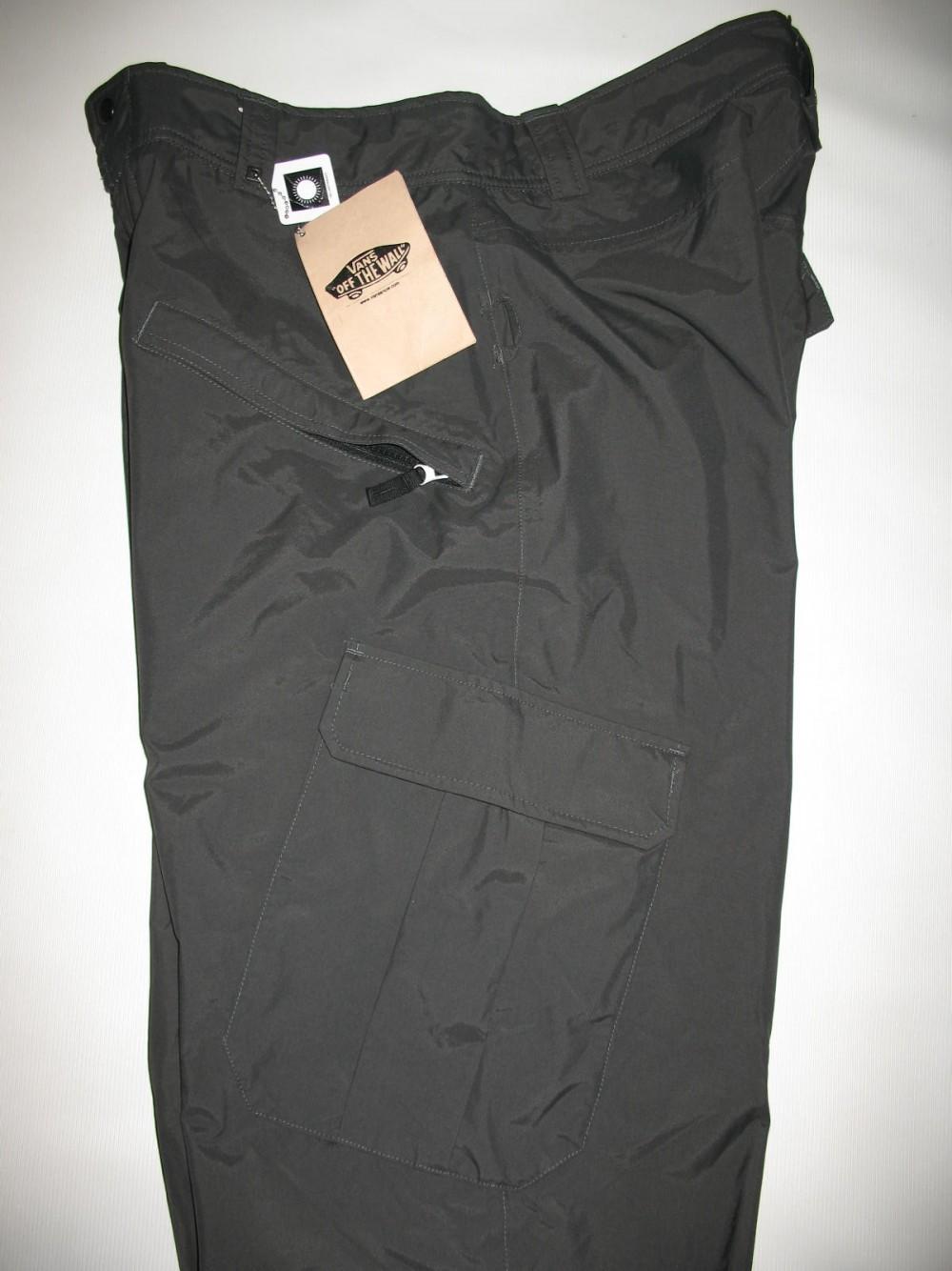 Штаны VANS 10/10 snowboard pants (размер XL) - 4