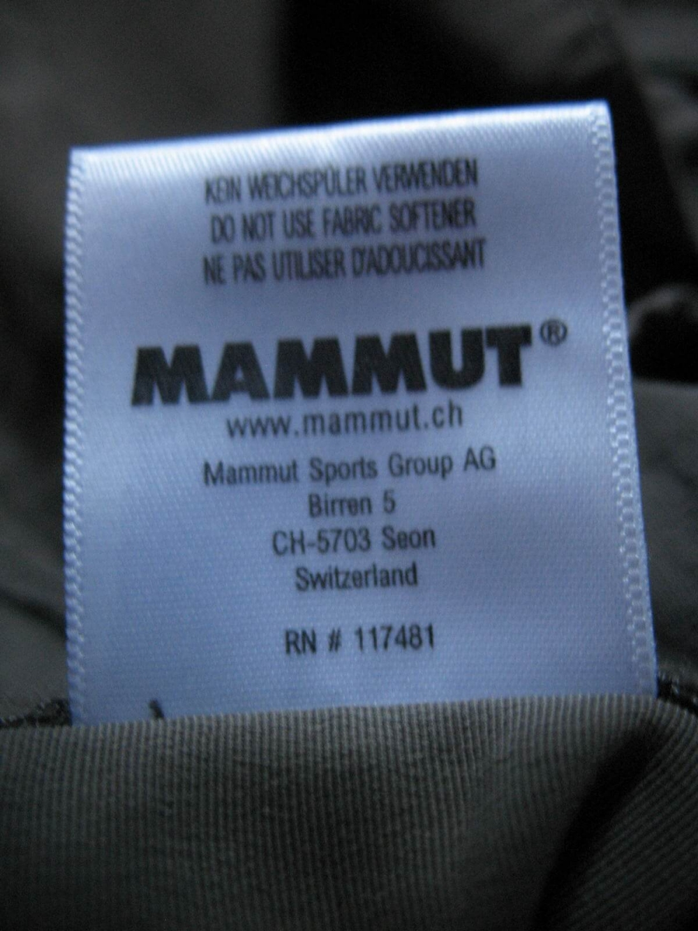Штаны MAMMUT Zip Off pants lady (размер 40-L/M) - 8