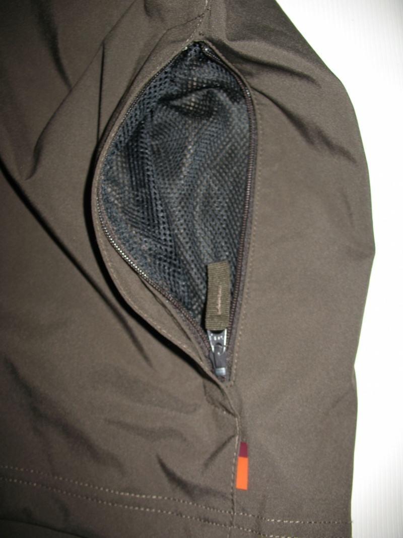 Куртка VAUDE   Hurricane II hood softshell jacket  (размер S/M) - 7
