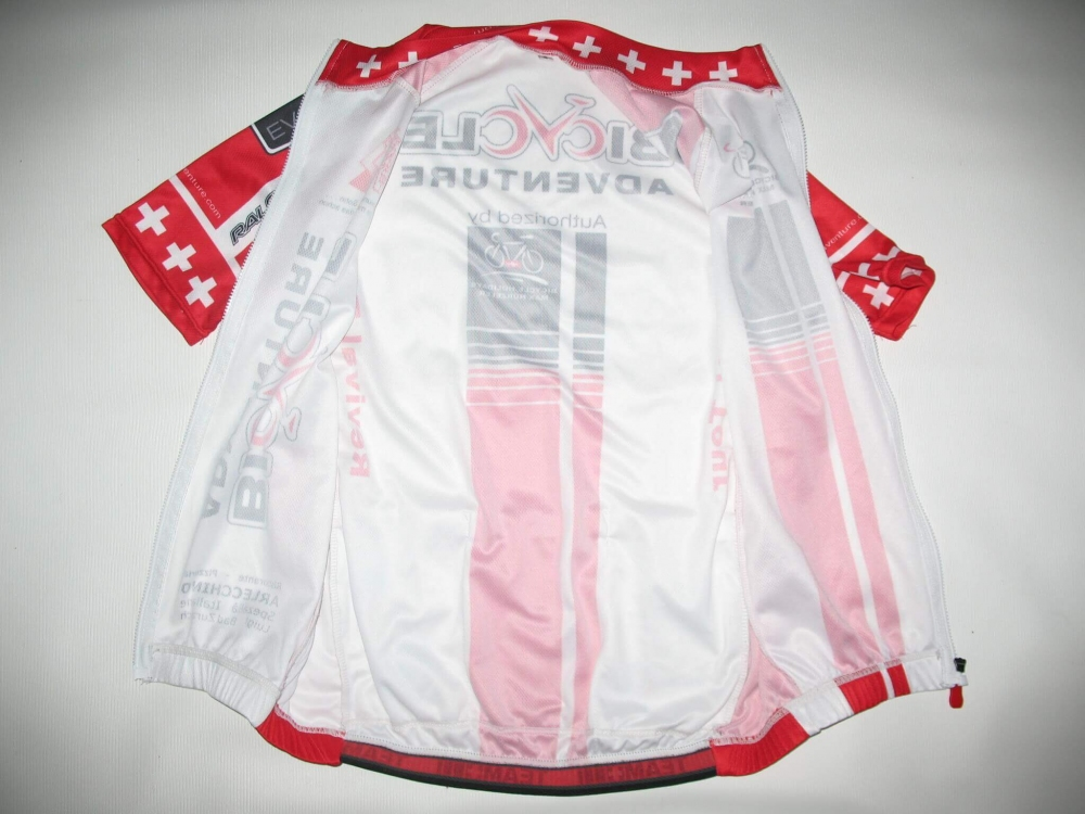 Веломайка MAX HUERZELER bicycle adventure jersey (размер S) - 3