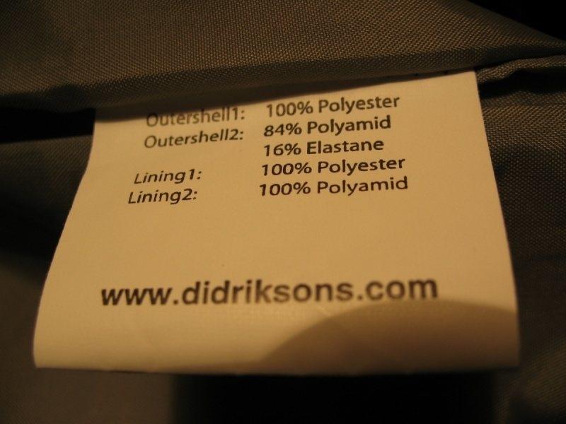 Штаны  DIDRIKSONS   (размер L/M) - 7