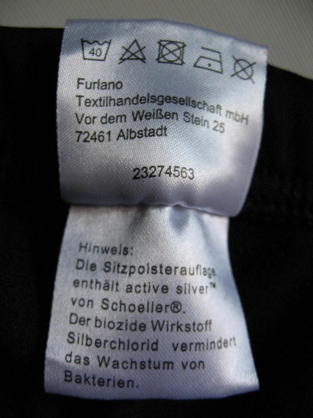 Велобрюки CRANE windstopper cycling pants lady (размер 38-М) - 6