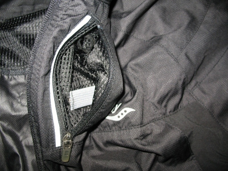 Куртка SAUCONY light running jacket (размер S/M) - 7