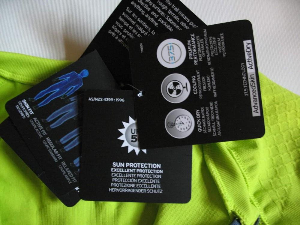 Футболка SALOMON exo motion ss jersey (размер L) - 11