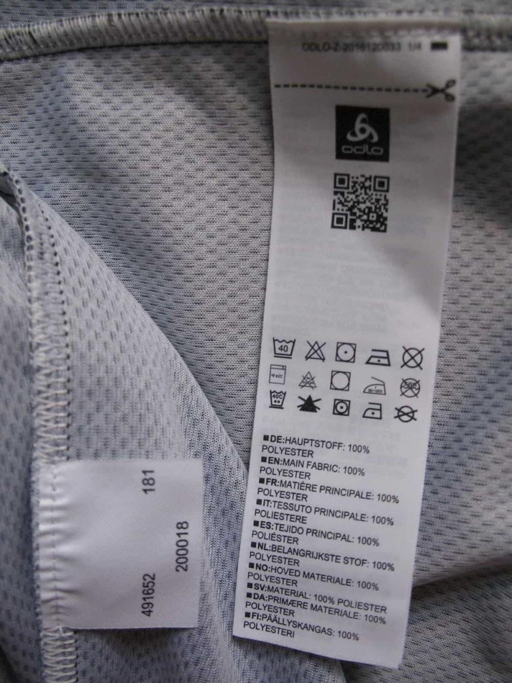 Веломайка ODLO scott sram cycling jersey (размер L) - 13