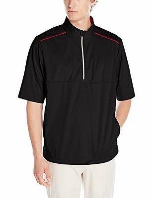Футболка  GREG NORMAN Weatherknit Rain Protection 1/4-Zip Short Sleeve (размер L(реально XL)) - 1