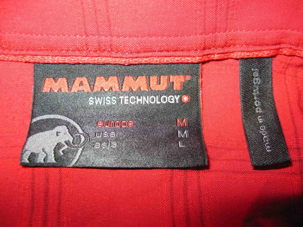 Рубашка MAMMUT outdoor shirts (размер L) - 2