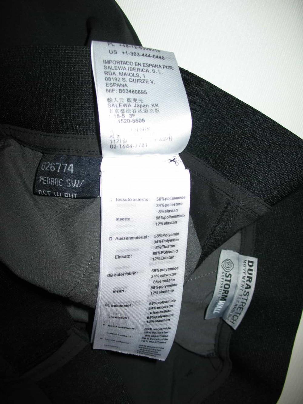 Штаны SALEWA pedroc pants lady (размер 36/S) - 8