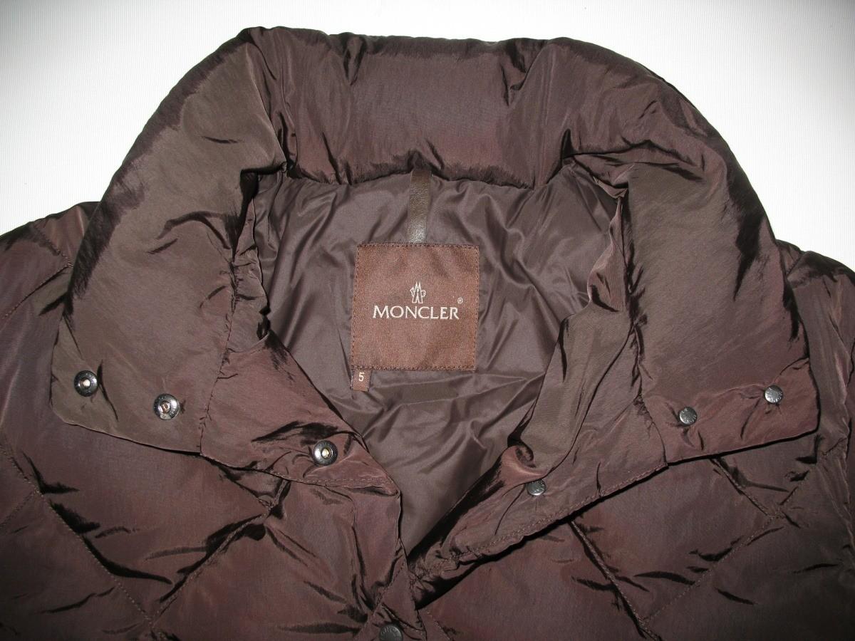 Пальто MONCLER down lady (размер 5/XL) - 4