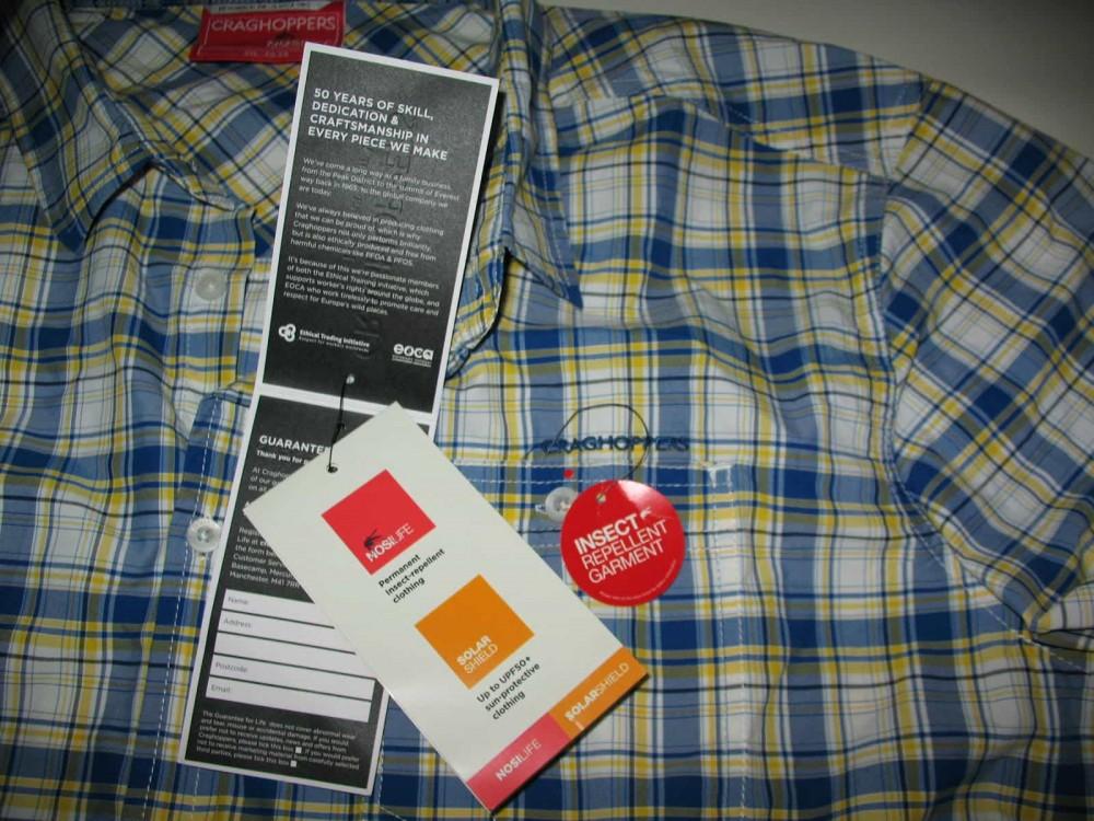 Рубашка CRAGHOPPERS nosiLife prospect shirt (размер 58-XXL/XXXL) - 8