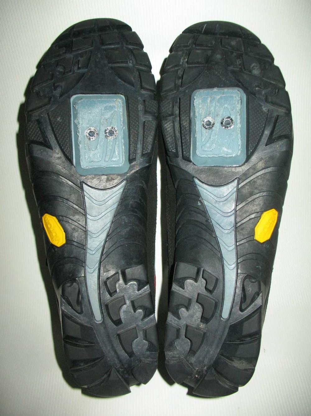 Велотуфли SCOTT vibram mtb bike shoes (размер US9/UK8/EU42(на стопу 265 mm)) - 6