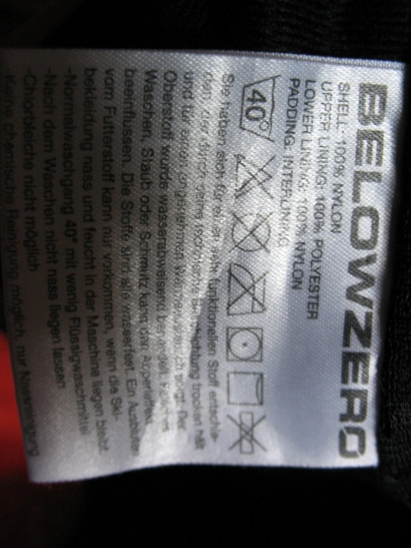 Штаны BELOWZERO   10/10 pants  (размер M), - 9
